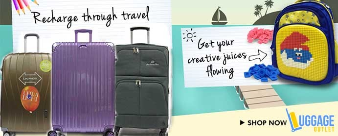 Luggage Outlet - Best travel season for cherry blossoms!