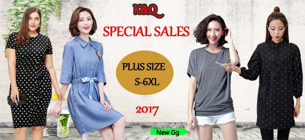 2017 new pius size dress