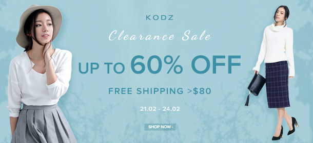 KODZ - Clearance Sale: Up to 60% Off