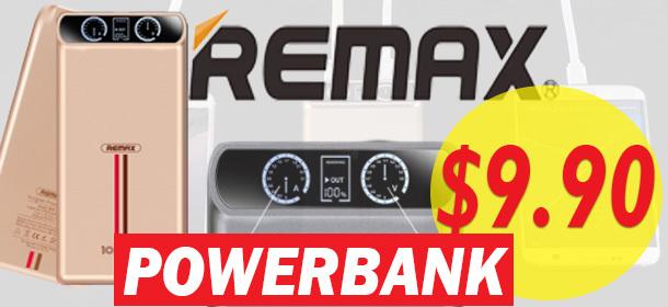 REMAX PREMIUM POWERBANKS