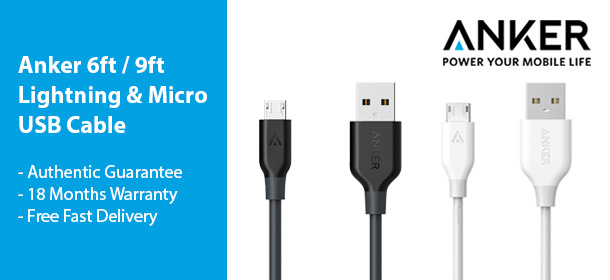 Anker Lightning / Micro USB Cable
