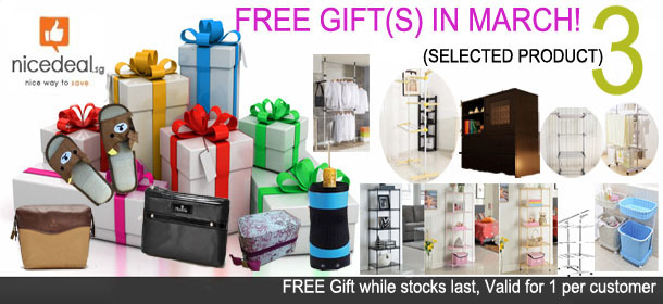FREE GIFT(S) IN MARCH!