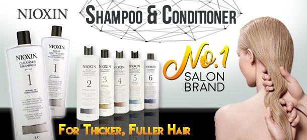Nioxin Shampoo/Conditioner Sale