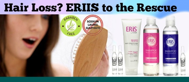 ERIIS - Stop Hair Loss - Effective hair loss reduction in 7 days!