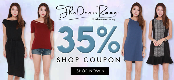 35% Store wide by The Dress Room