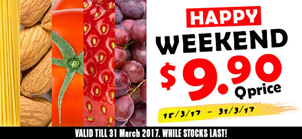 Happy Marchsary $9.90 Special