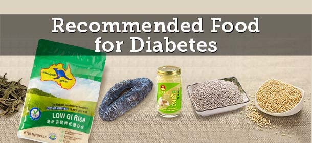 Recommended Food For Diabetes