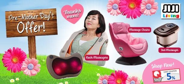 JiJi Living Pre Mother day's Promo