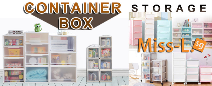 ★PLASTIC STORAGE CONTAINER BOX/Stacking Drawer