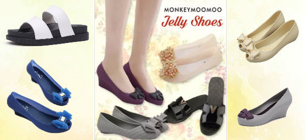 Jelly shoe from $7.90!