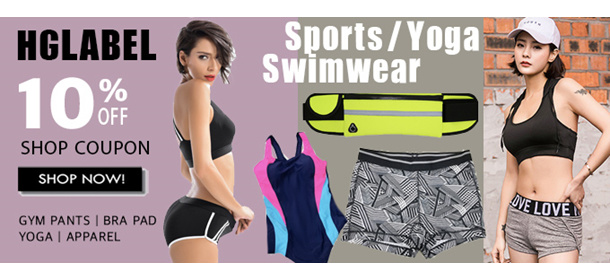 ★HGLABEL ★QUALITY SPORTS BRA★ Women's Super Deals~♥ FREE SHIPPING