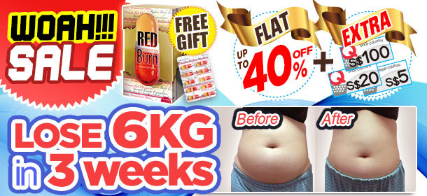 WOAH SALE 40%OFF + EXTRA COUPON ! Result Guaranteed! #Lose 6KG in 3weeks !!