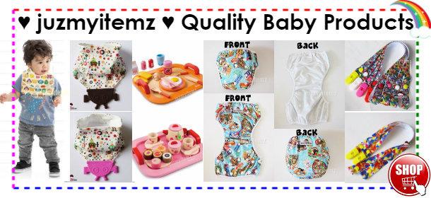 ♥ juzmyitemz ♥ Quality Baby Products