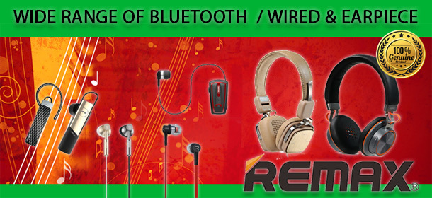 REMAX BLUETOOTH/WIRED HEADSET