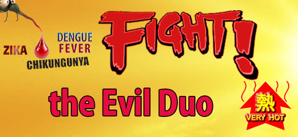 Fight the Evil Duo - Heat and Mosquito