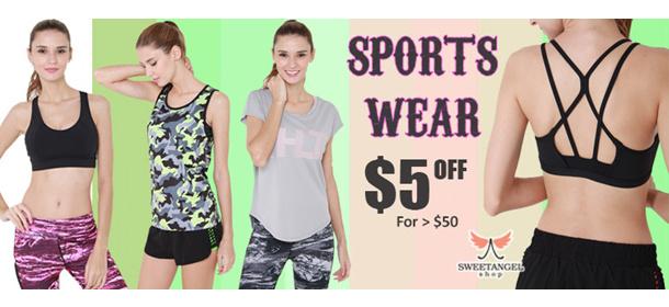 SweetangelShop Active Sports