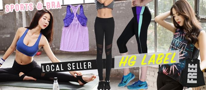 ★HGLABEL ★QUALITY SPORTS BRA★ Women's Super Deals~♥ FREE SHIPPING