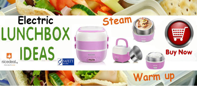 Electric Lunch Box promotion