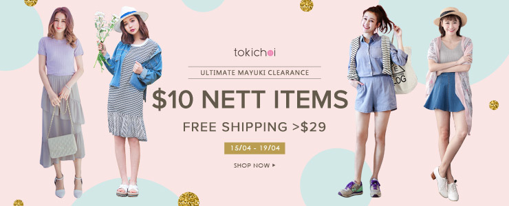 Mayuki Clearance at $10 Nett + Free Shipping >$29