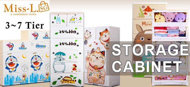 Totoro PLASTIC STORAGE CABINET