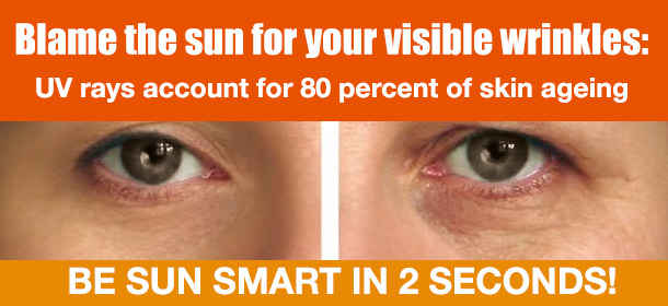 PROTECT YOUR SKIN FROM UV RAYS!
