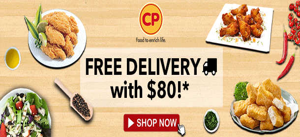 CP Free Delivery with $80