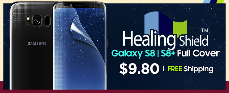 Healing Shield] SAMSUNG S8/S8 Plus screen protector