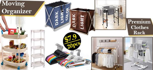 Premium Clothes Rack/Drying Rack