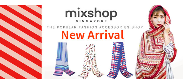 SCARF NEW ARRIVALS  2017 MAY