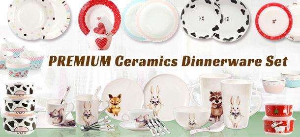 PREMIUM Ceramics Dinnerware Set
