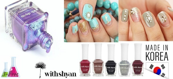 WithShyan Chemical Free Nail Polishes