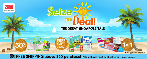 3M™ Great Singapore Sale