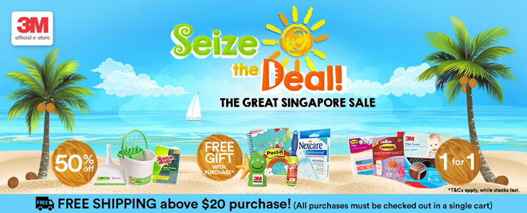 3M™ Great Singapore Sale