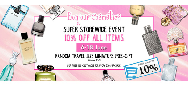 A Super Sale for GSS All Perfume You Need