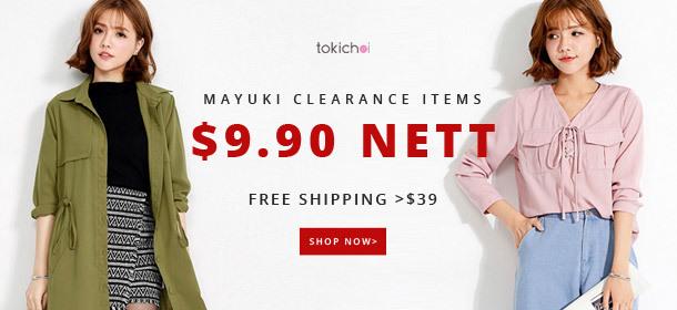 TokiChoi - $9.90 Mayuki Clearance