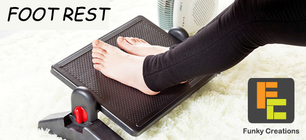 Footrest for Office use!!