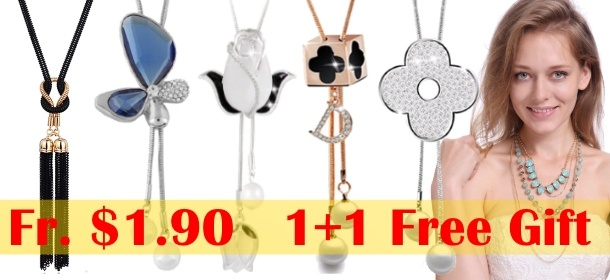 Necklaces from $1.99
