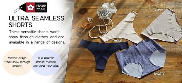 Seamless Panties, Nubra & Sport Bra Sale!