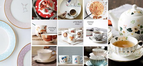 Fine bone china Dinnerware set/Tea set