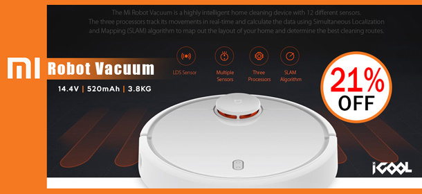 Xiaomi ROBOT Vacuum Cleaner * Star Buy * As Recommended