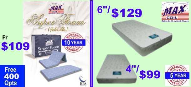 MaxCoil Foam Mattress