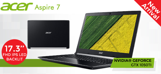 New Launch Acer Aspire 7