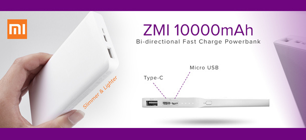 ZMI Fast Charging Powerbank
