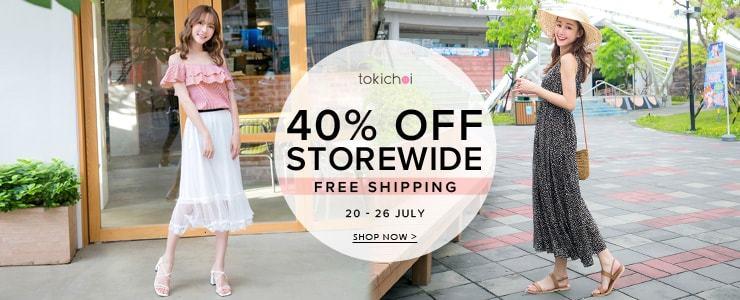 TokiChoi - 40% Off Storewide + Free Shipping