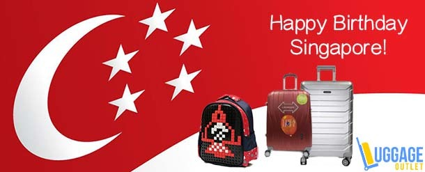 Luggage Outlet - NDP2017 Special