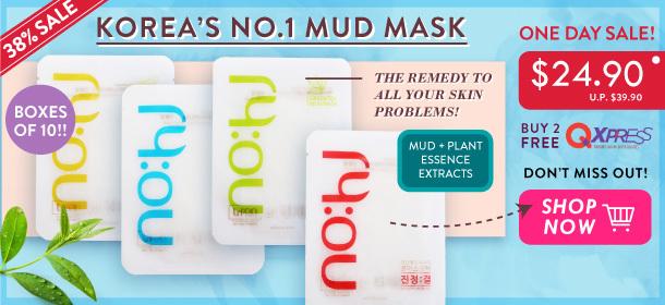 Korea's Hottest NOHJ Mask Pack