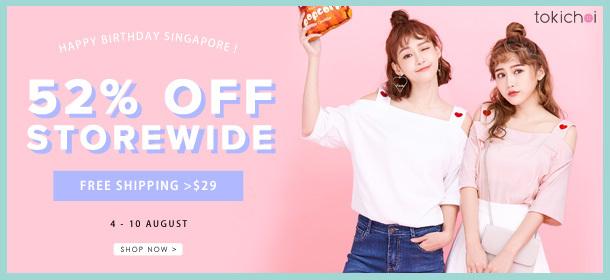 TokiChoi - 52% Off Storewide + Free Shipping >$29