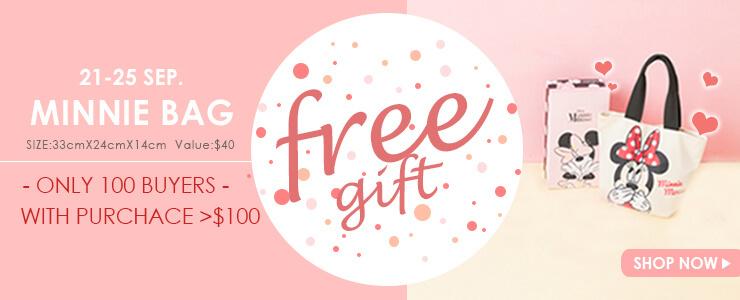 FREE GIFT! 21-25 SEP