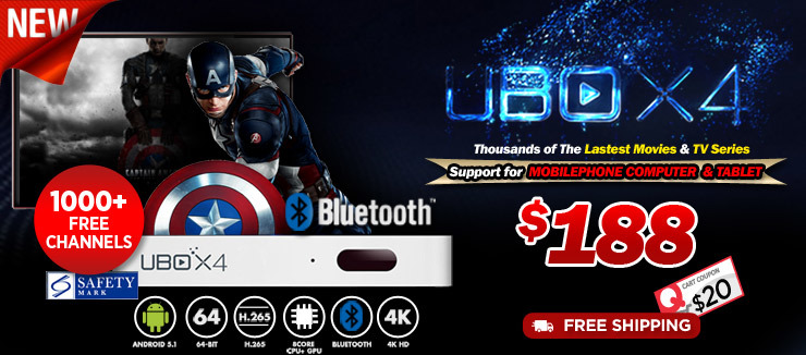 Most Reliable Singapore Authorized UBTV Gen 4 and UPAD PRO 4 Seller in Qoo10!!!