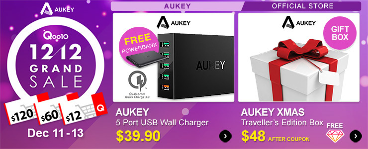 Aukey 12.12 Special 🎅🎁 Gift Box Essentials!! *while stocks last* ➤